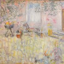 コンスタンティン・テレスコヴィッチ 「画家のアトリエ」