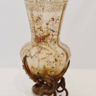 ガレ エナメル花瓶1