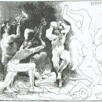 Picasso  La Danse des Faunes